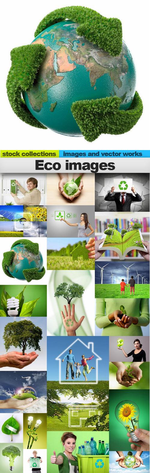 Eco images,25 x UHQ JPEG
