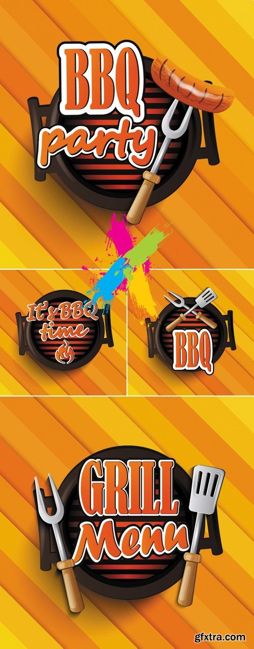 Barbeque & Grill Food Vector