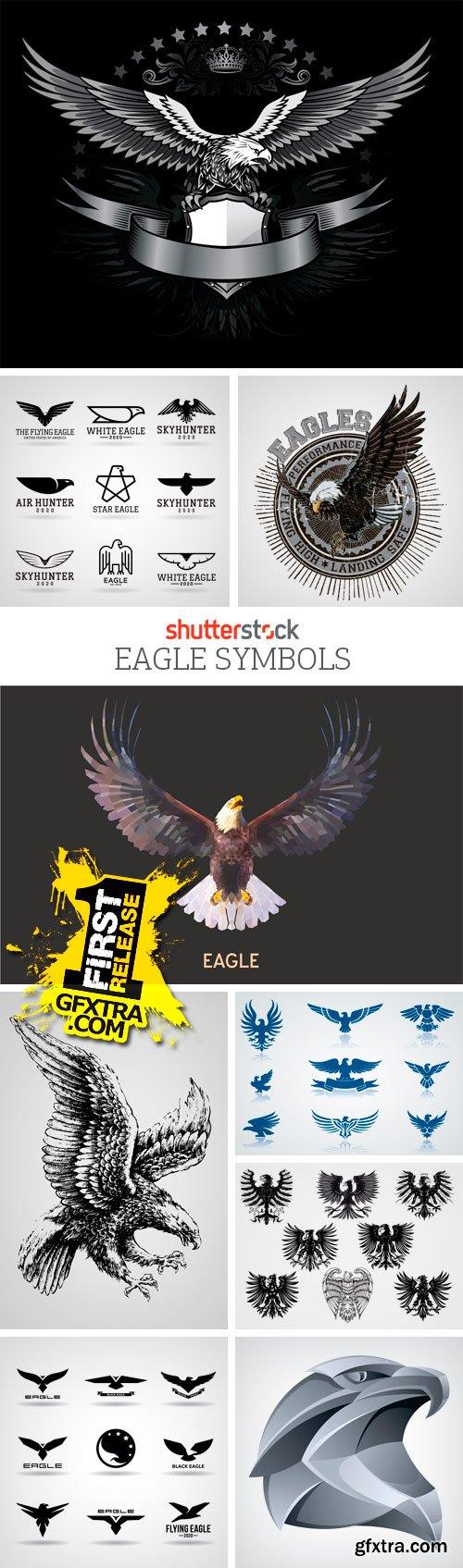 Amazing SS - Eagle Symbols, 25xEPS