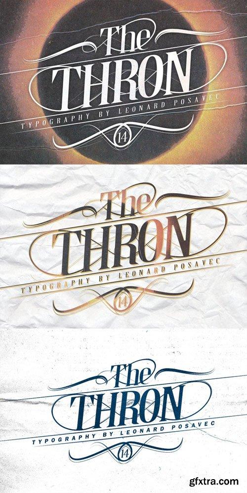 Thron - Font
