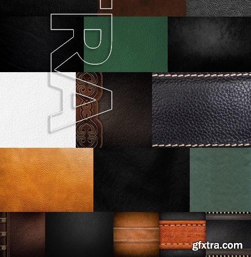 Stock Photos - Leather Textures, 30xJPG