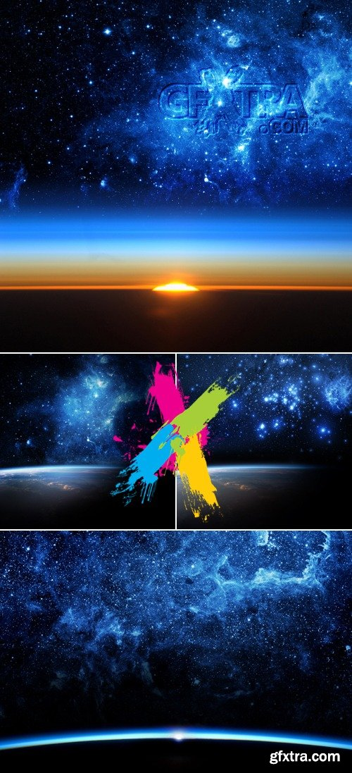 Stock Photo, Earth, Space & Galaxy