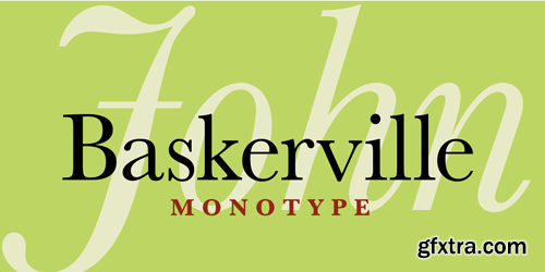 Baskerville Font Family - 6 Fonts for $174