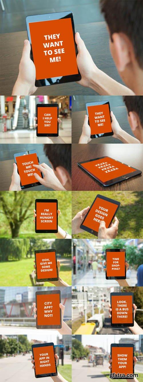 iPad mini Mock-ups Bundle
