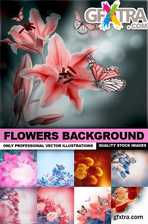 Flowers Background - 25 HQ Images