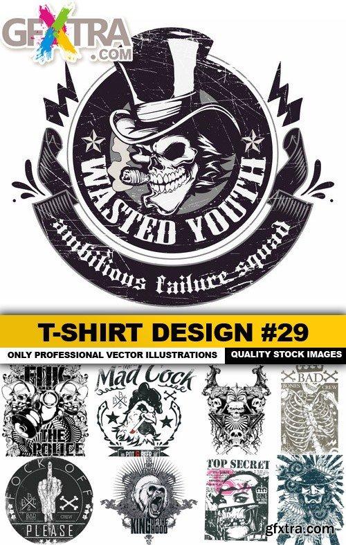T-Shirt Design #29 - 25xEPS