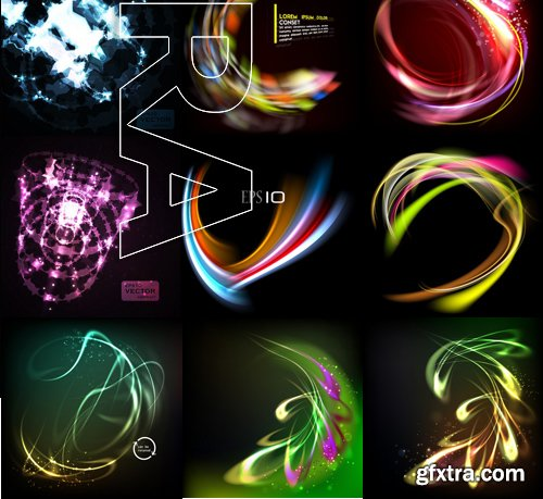 Stock Vectors - Abstract light background 2, 25xEPS
