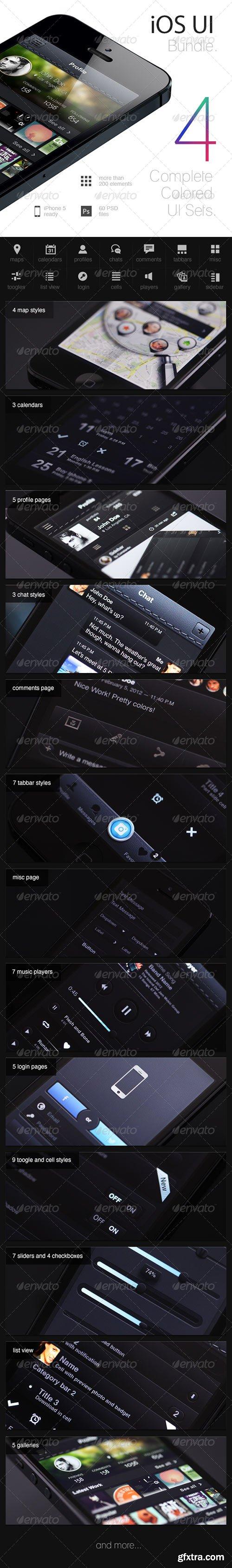 GraphicRiver - iOS UI Sets