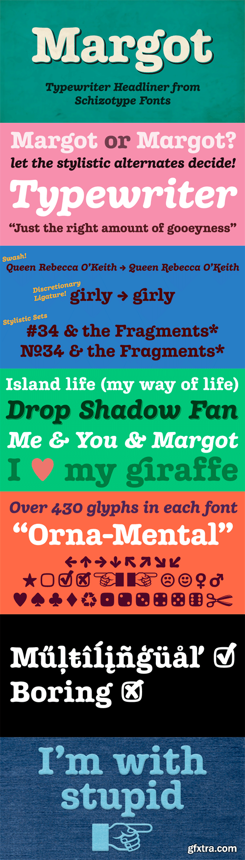 Margot Font Family - 2 Fonts for $50