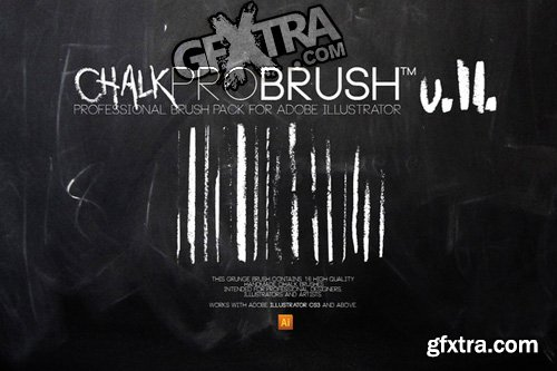 Illustrator Brush - ChalkPro Brush v2