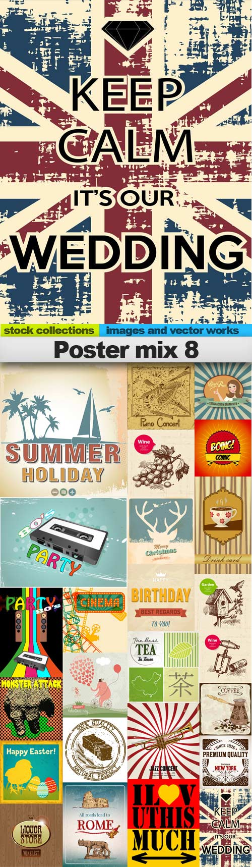Poster mix 8,25 x EPS