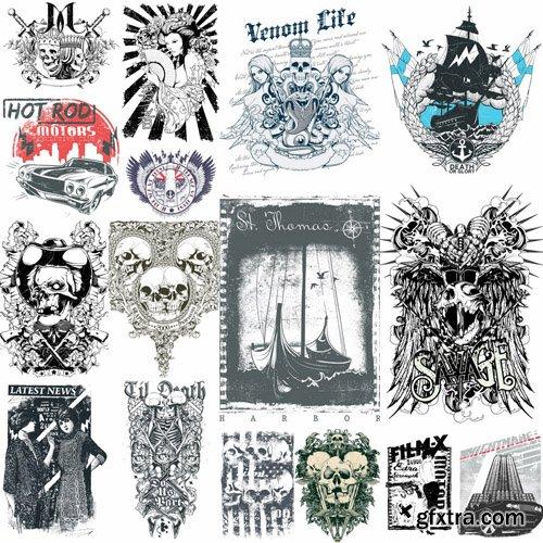 T-Shirt Design #30 - 25xEPS