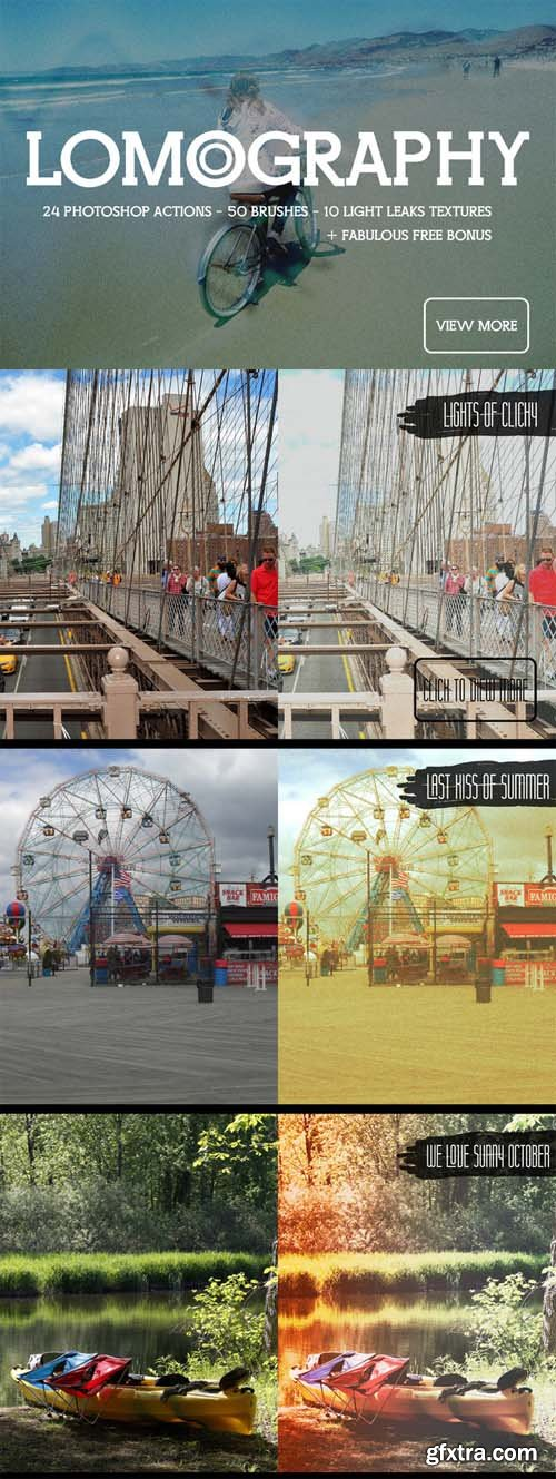 Lomography Photoshop Actions