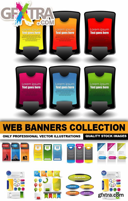 Web Banners Collection - 25 Verctor