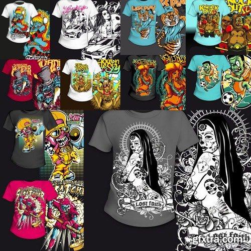 T-Shirt Design #31 - 25xEPS