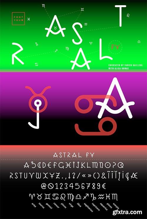 GFXTRA Font Bundle 6 - 6 Fonts $178