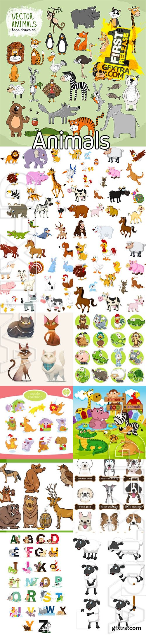 Vector - Animals