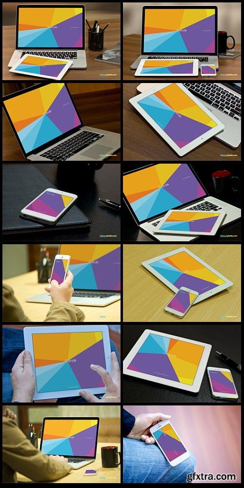 35 Apple Device Mockups