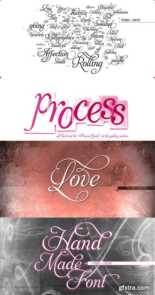 Aphrodite Font Family - 5 Font $97