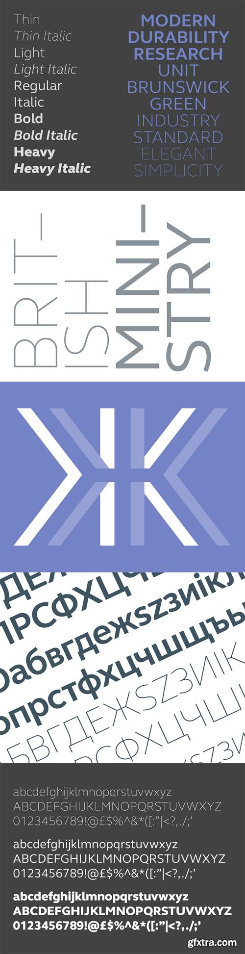 FS Elliot Pro Font Family - 10 Fonts for ?350