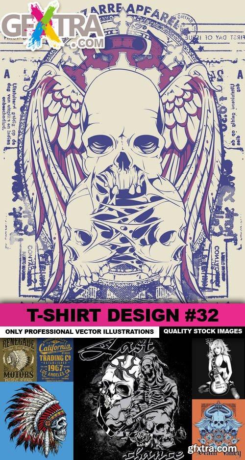 T-Shirt Design #32 - 25xEPS