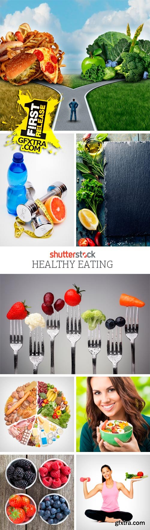 Amazing SS - Healthy Eating, 25xJPGs