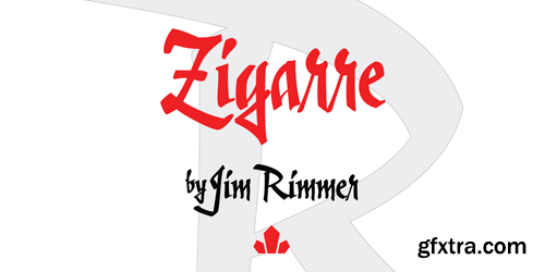 Zigarre Font Family - 2 Fonts for $40