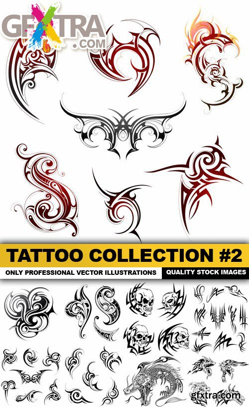 Tattoo Collection #2 - 24 Vector