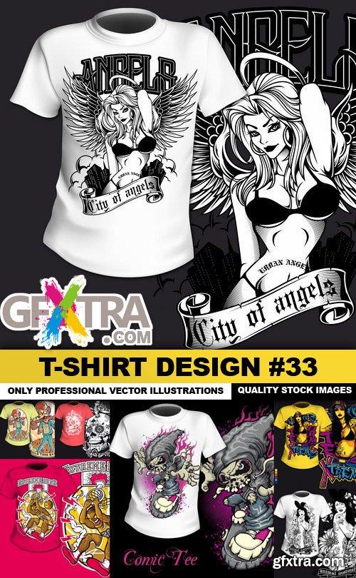 T-Shirt Design #33 - 24xEPS