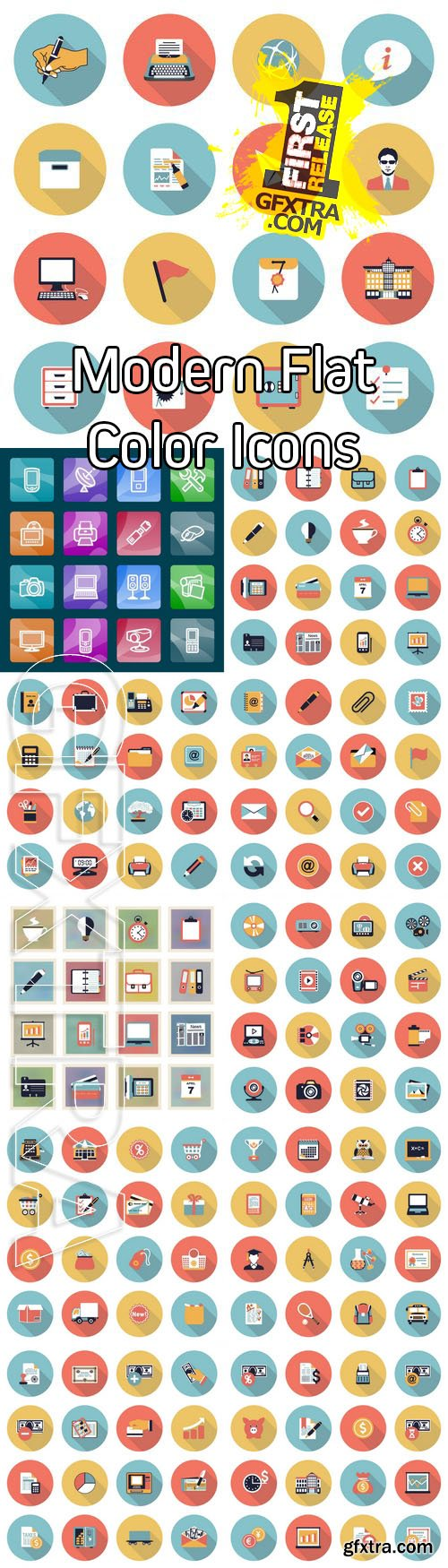Vector - Modern Flat Color Icons