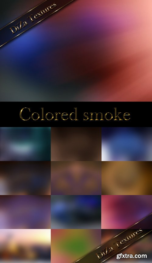 Colored smoke textures