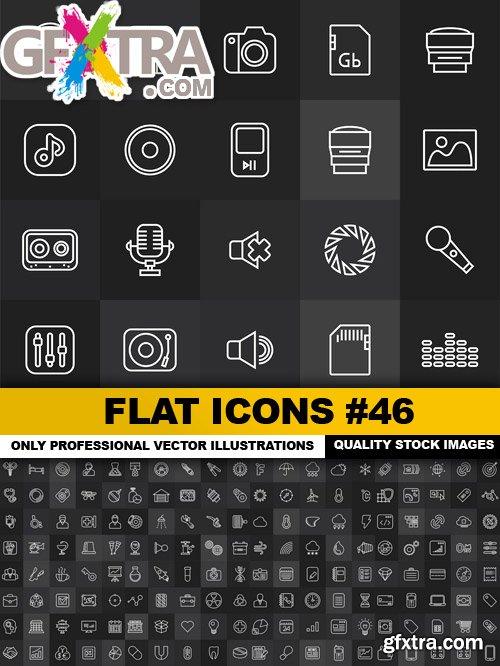 Flat Icons #46 - 25 Vectors