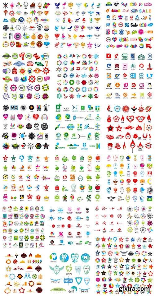Collection of Logos vol.39, 25xEPS, AI