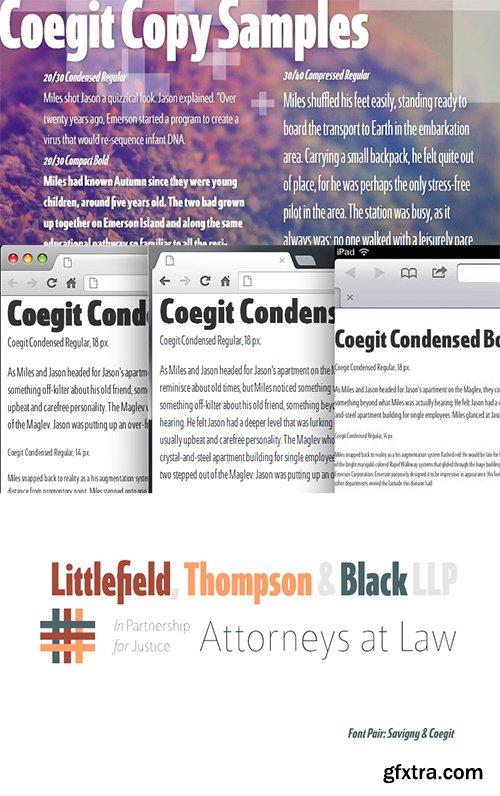 Coegit Font Family - 32 Font $1024