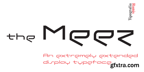 The Meez Font Family - 3 Fonts for $51