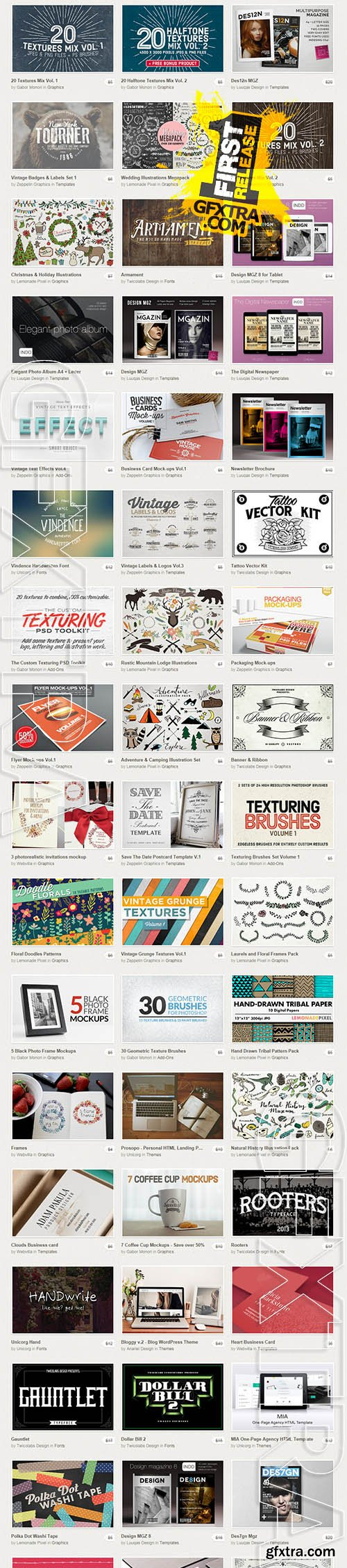 Creative Market Big Bundle II