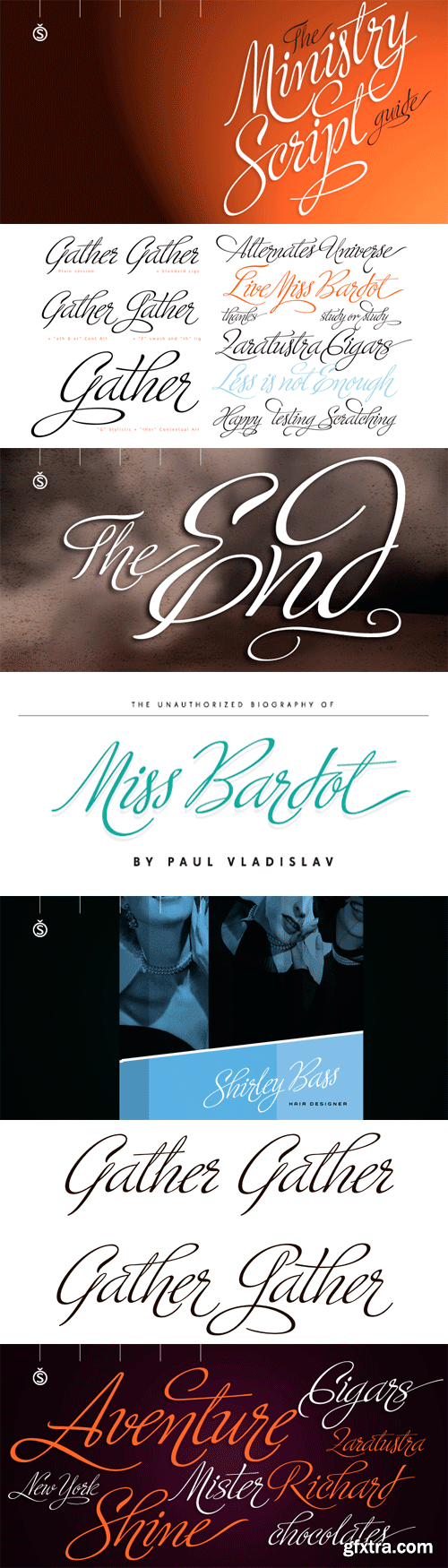 Ministry Script Font for $99