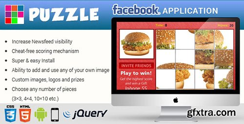 CodeCanyon - Facebook Puzzle Game Contest Application 7940562