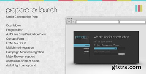ThemeForest - Prepare for Launch - Under Construction Page - FULL
