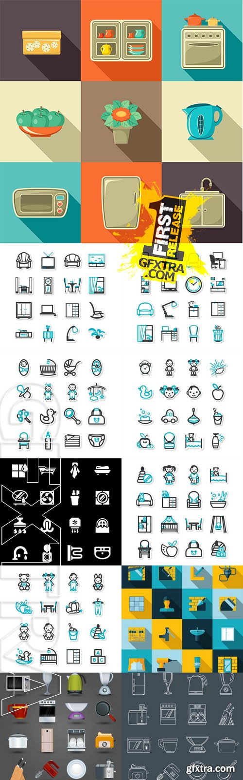 Vector - Home Interior Icons