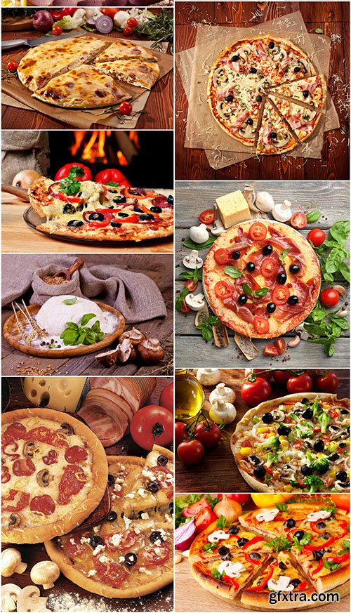 Tasty Pizza Collection, 10xUHQ JPEG
