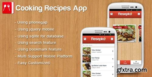 CodeCanyon - Cooking Recipes App