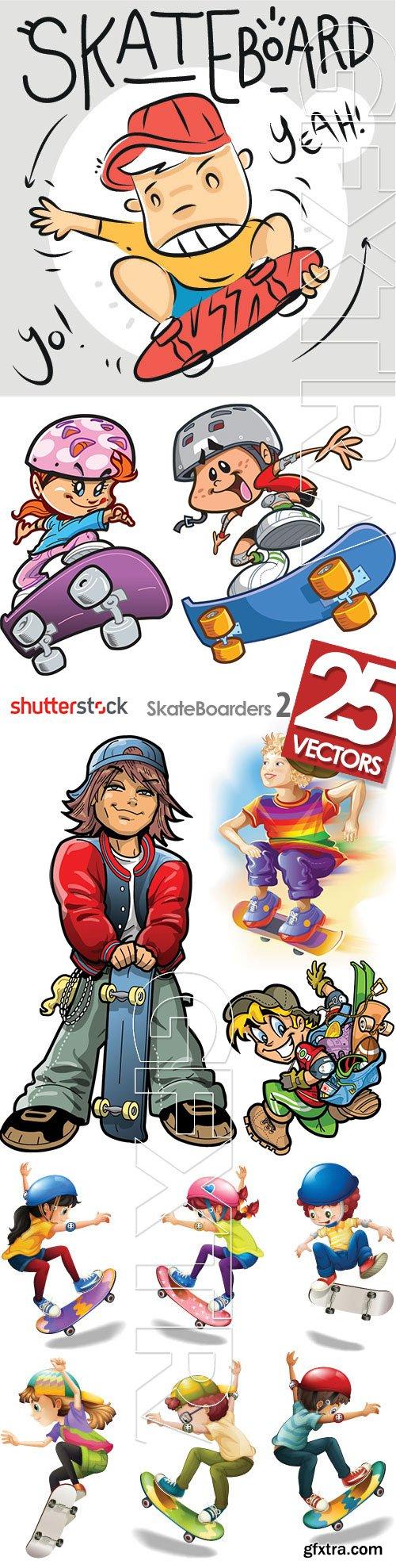 SkateBoarders 2, 25xEPS