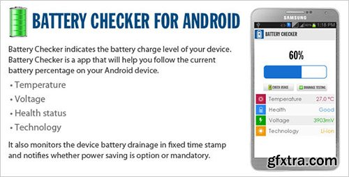 CodeCanyon - Battery Checker v1.0 - Android OS v3.x - v4.x