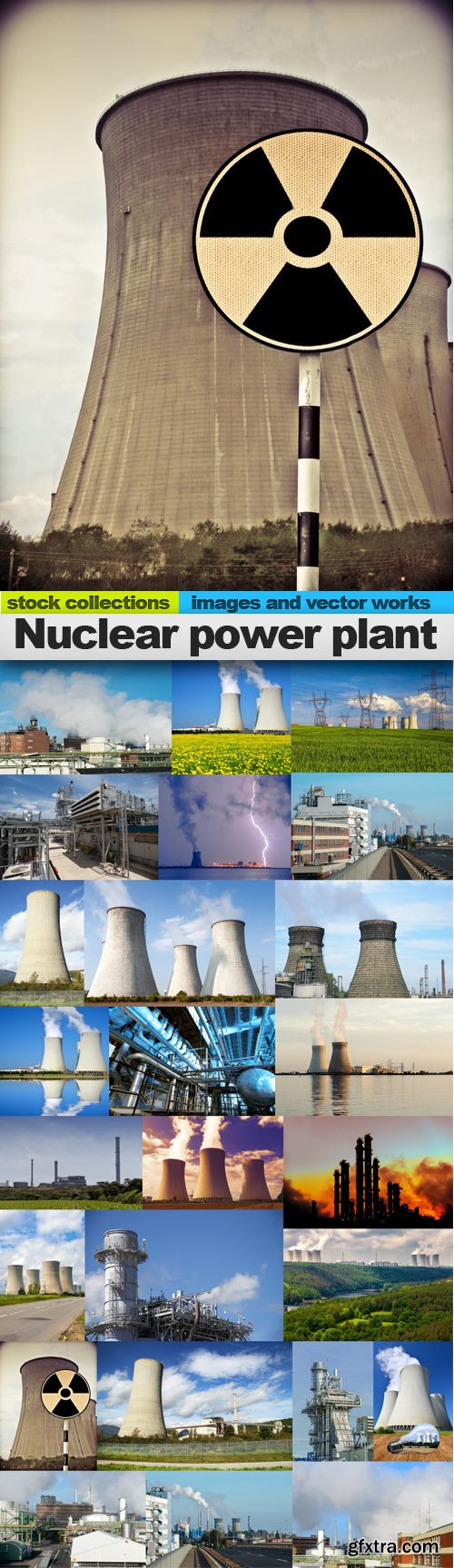 Nuclear power plant,25 x UHQ JPEG
