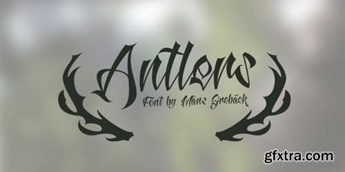 Antlers Font for $59