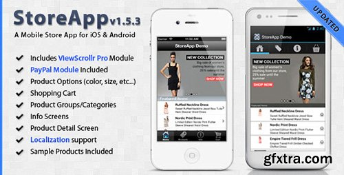 CodeCanyon - StoreApp v1.5.3 - A Mobile Store Application Template