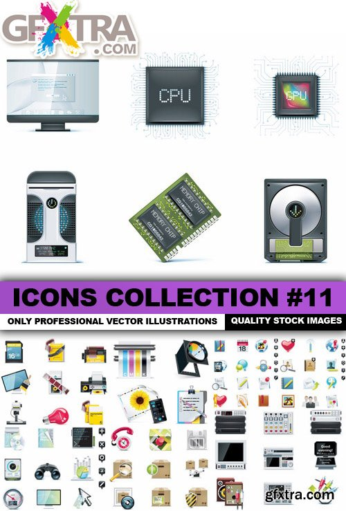 Icons Collection #11 - 25 Vector