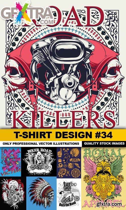 T-Shirt Design #34 - 25xEPS