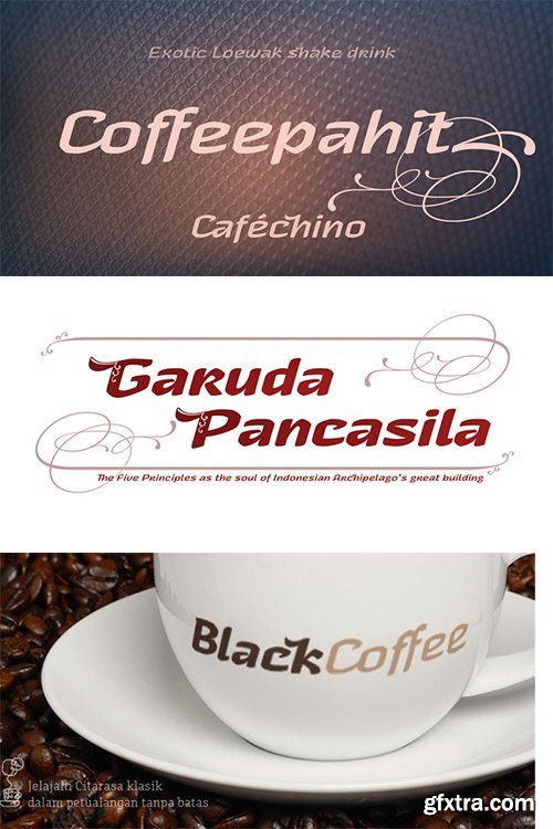 Garuda Font Family - 3 Font $120